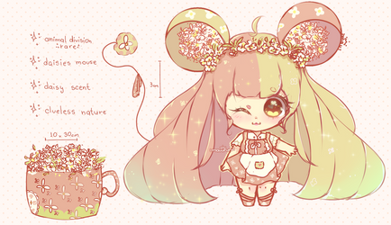 | raffle | rare daisy mouse | WINNER ANNOUNCED by mauururu