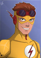 Kid Flash by IBlackWolf