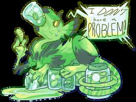 Pickle Monster by MrMollusk