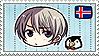 Iceland, Stamp by megumar
