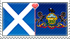 APH Scotland x Pennsylvania Stamp by megumar
