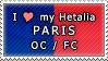APH I love my Paris OC Stamp by megumar
