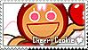 Cherry Cookie Stamp by megumar