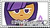 Blackberry Cookie Stamp by megumar