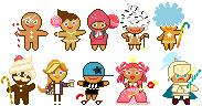 Cookie Run pixels by megumar