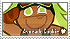Avocado Cookie Stamp by megumar