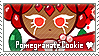 Pomegranate Cookie Stamp by megumar