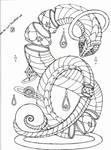 Goldensnake by cross-the-swirl