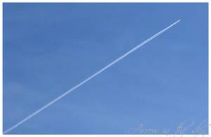 Arrow in the sky by FraggaN