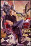 Leon Kennedy - Sharp Cut by Petite-Madame