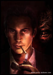 John Constantine - K. Reeves by Petite-Madame