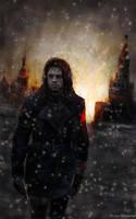 Le Soldat de l'Hiver (Sebastian Stan) by Petite-Madame