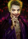 Spn x DC Comics - Misha as The Joker by Petite-Madame