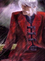 Dante - The Devil May Cry by Petite-Madame