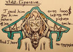 Inktober 22 : Expensive  by Dementeris-San
