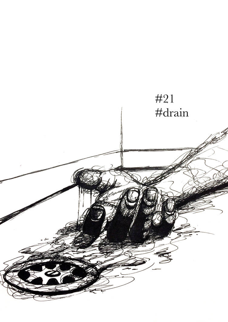 Inktober 2018: Day 21 - Drain by B-Keks