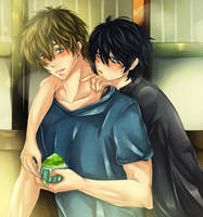 MakoHaru: Just A taste by Iwonn