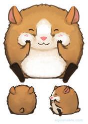 Vote: Squishable Cheeky Hamster Plush! LAST DAY! by Mynxuu