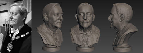 Dad Sculpt eyes 01 by benjaminred