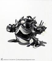 Robo5 by NikYeliseyev