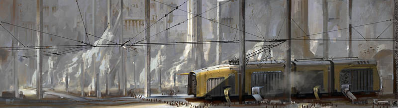 Tramway by NikYeliseyev