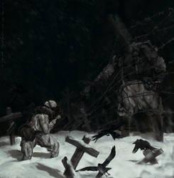 Cold Night by NikYeliseyev
