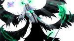 Anime Green Flames Render by Follolam