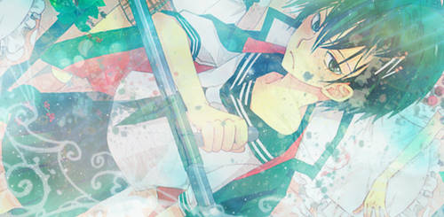 Hibari Kyoya Banner by RAYAHH