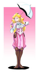Peach Crossover Outfit by Lightrail