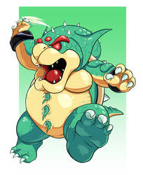 Bowser Crossover Outfit by Lightrail