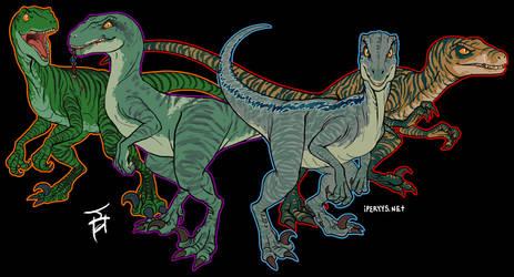 Raptor October: Sisters by kosmonauttihai