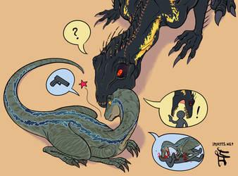 Raptor October: Healing by kosmonauttihai