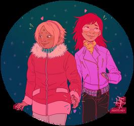 It's a date! by kosmonauttihai