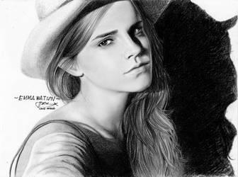 Emma Watson drawing by LivieSukma