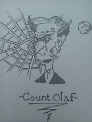 Count Olaf by Lordbassar