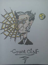 Count Olaf (Colour) by Lordbassar