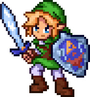 Link (Ocarina of Time) by Breeky