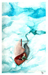 Sailing on clouds by TwoTwig