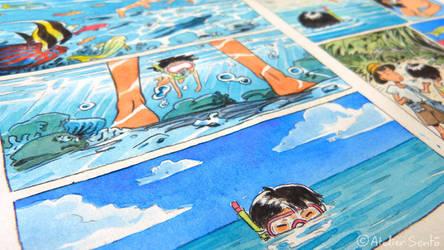 An Irabucha's Dream - The Coral Cave minicomic by Atelier-Sento