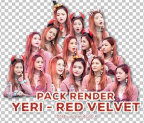[PNG] PACK RENDER YERI - RED VELVET by ditthuiom654