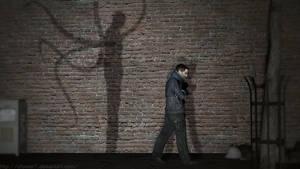 A stroll home with a stranger by cfowler7-SFM