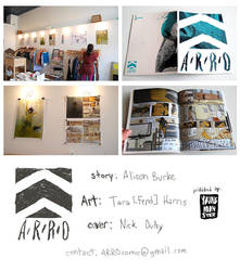 ARRO comic party AND Etsy link by fend
