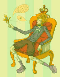 rotten prince :color: by fend