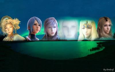 A aurora borealis of beauties by Drekrief