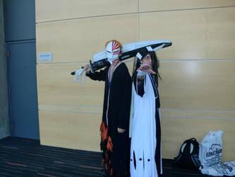 Ichigo and Byakuya cosplay at Otakuthon 2012 by Drekrief