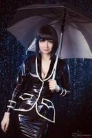 Under the rain II by Violet-Spider