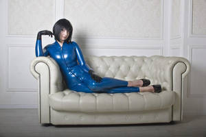 Blue Latex by Violet-Spider