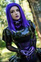 ANASTASIA VOLODINA / PURPLE BEAUTY by Violet-Spider