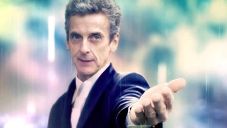 Doctor Who Wallpaper Peter Capaldi by U-No-Poo
