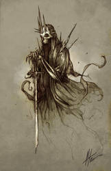 Witch King by troubadour93